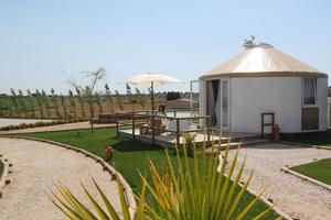Yurt em Santarém