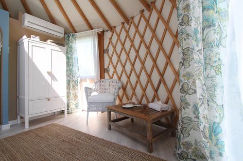 Interior de Yurt