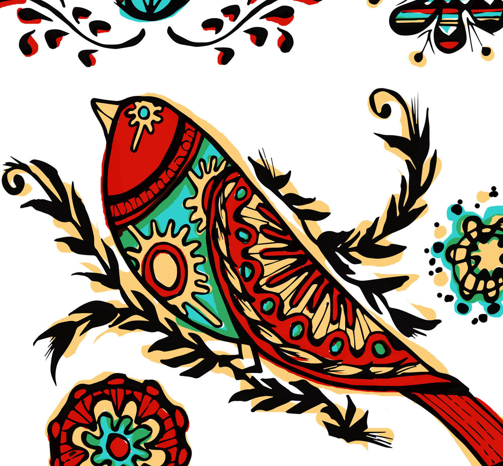 Mexican Folk Art Birds close up.jpg