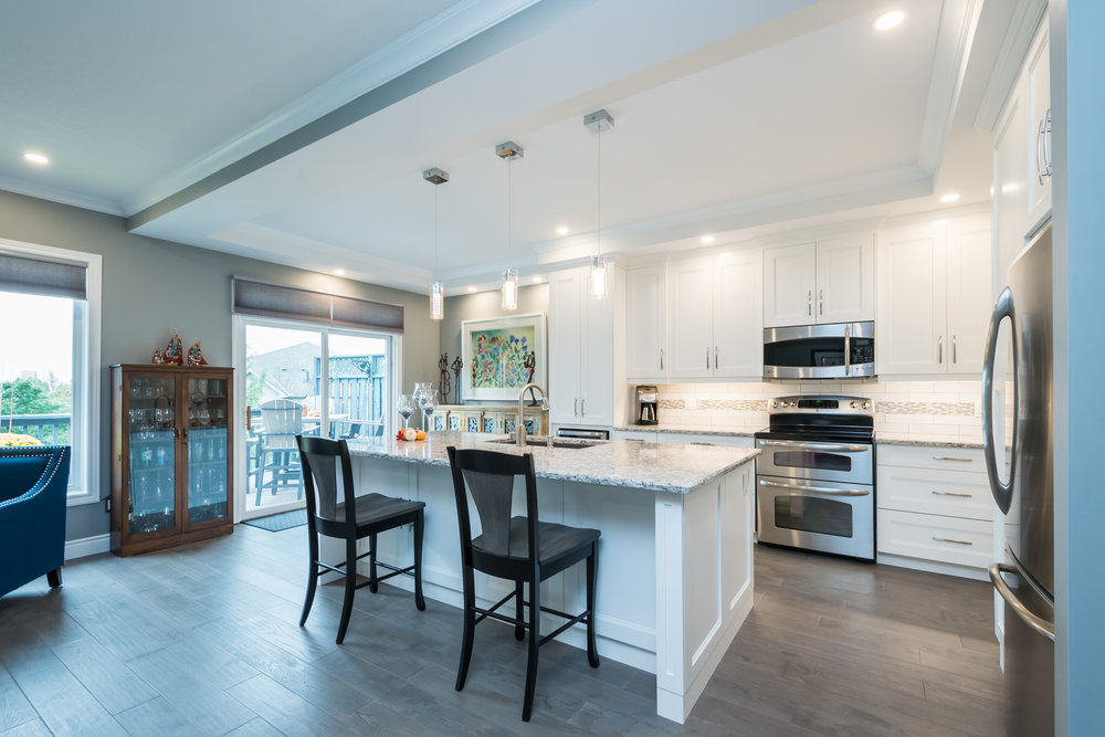 A recently completed Kitchen Renovation we did in Arva, Ontario