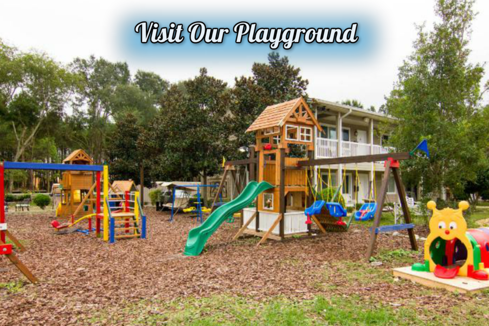 Florida.com Hospitality Award Winner - Enjoying time with the kiddos? Head over to our spacious playground.