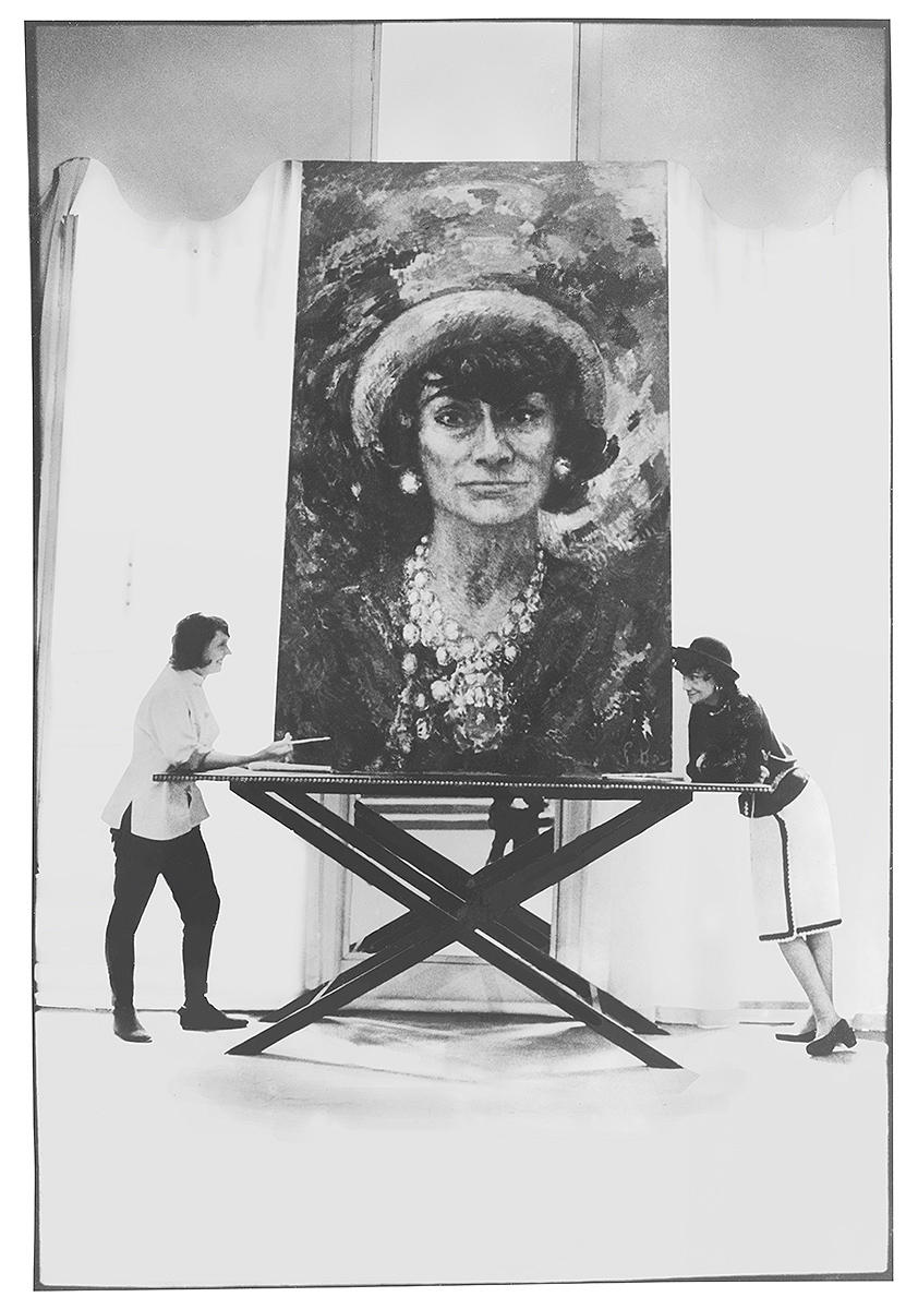 Artist Marion Pike and fashion icon Coco Chanel.