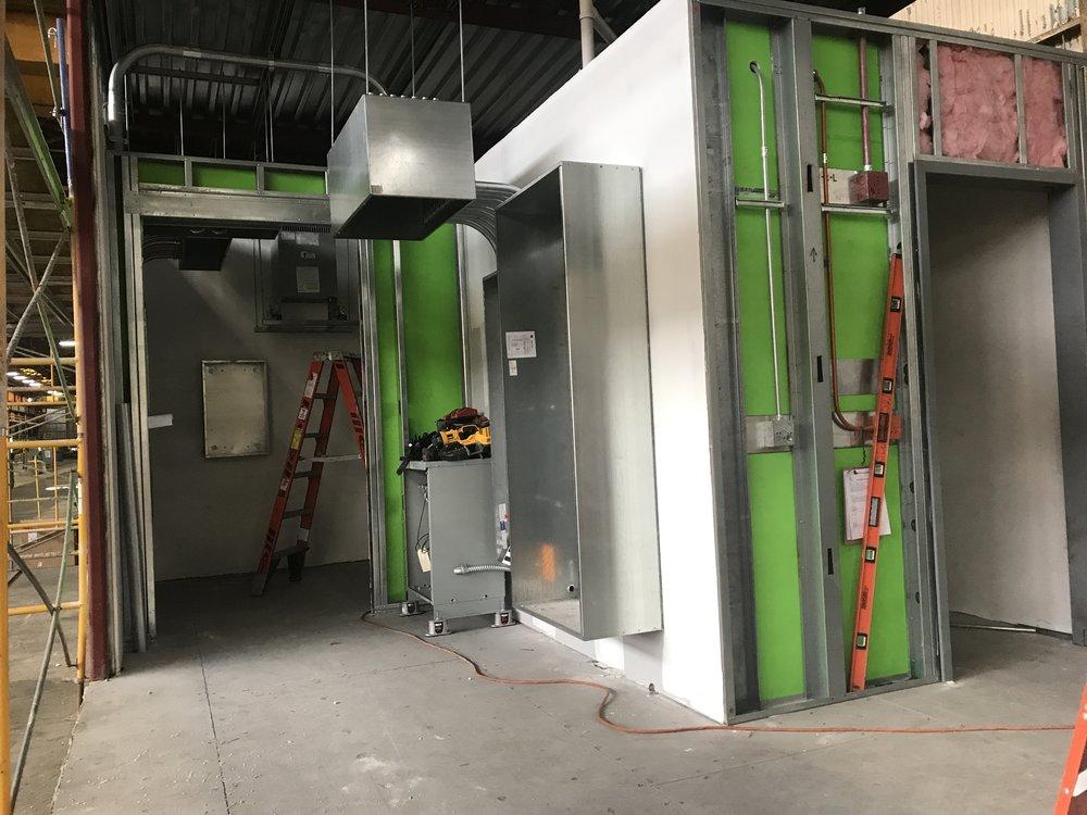 Shipping Soon! A prefab Electrical Room.
