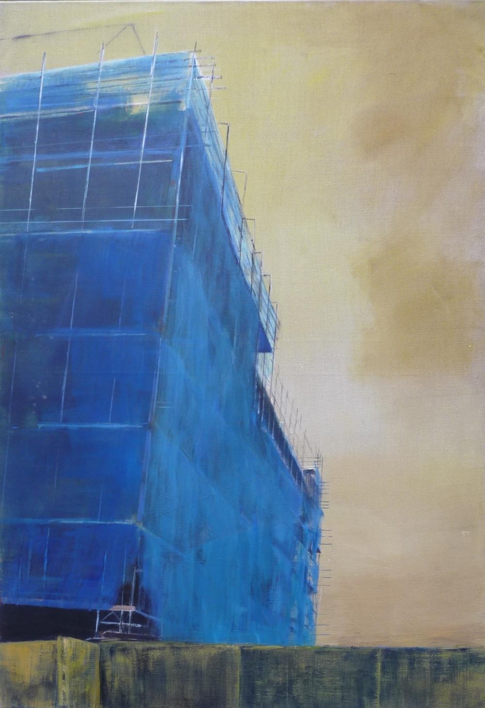 Bild 3, acryl op doek, 90 x 130 cm