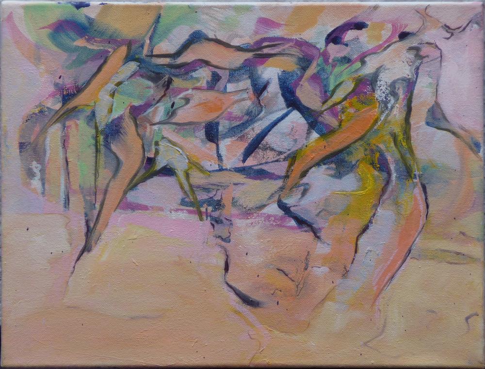 Image 7, olieverf op doek, 30 x 40 cm