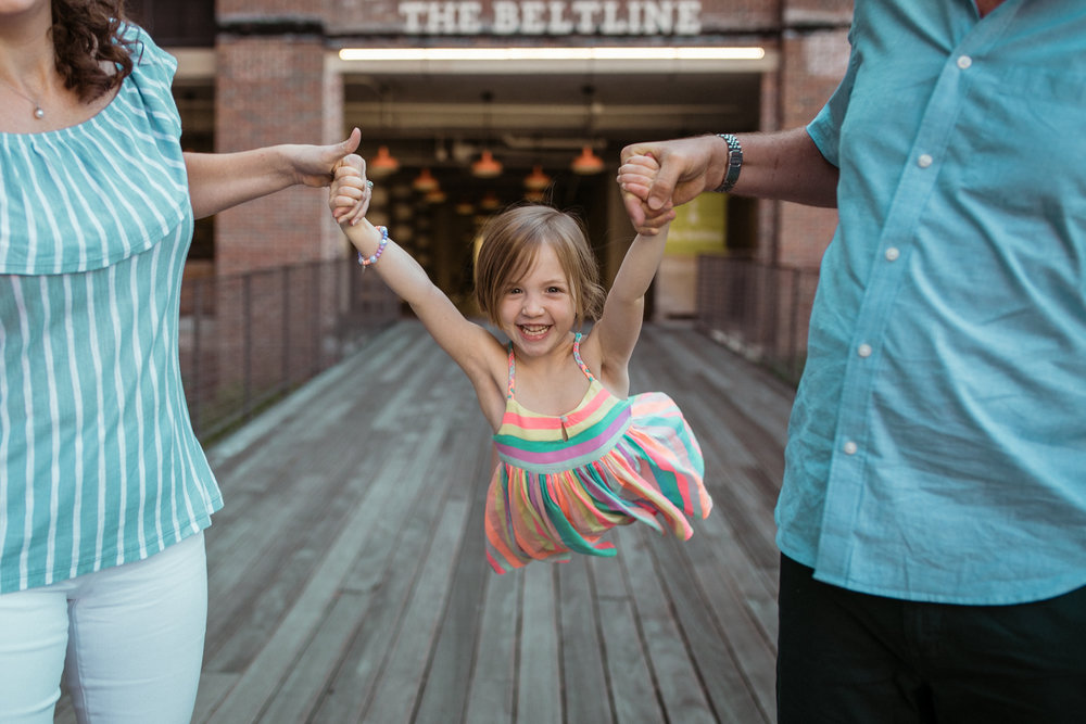 ponce city market family session