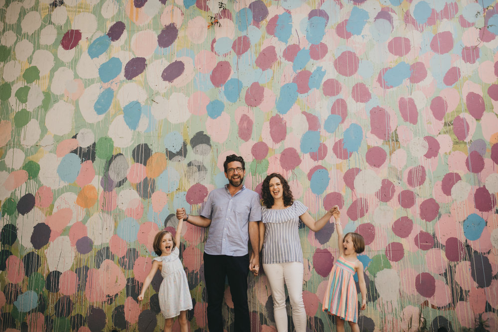 atlanta beltline family photography