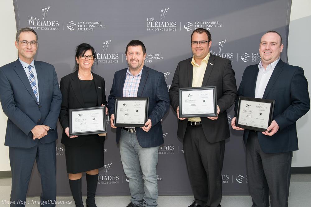 Finalistes 2016 les pl iades prix d 39 excellence for Armoires de cuisine bernier inc