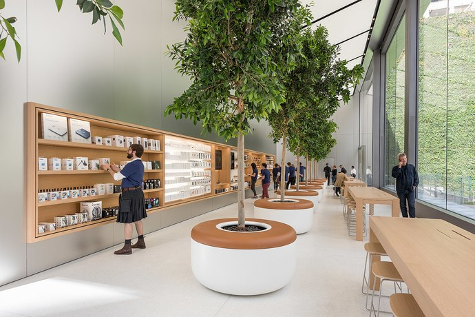 Apple Store's Latest Design