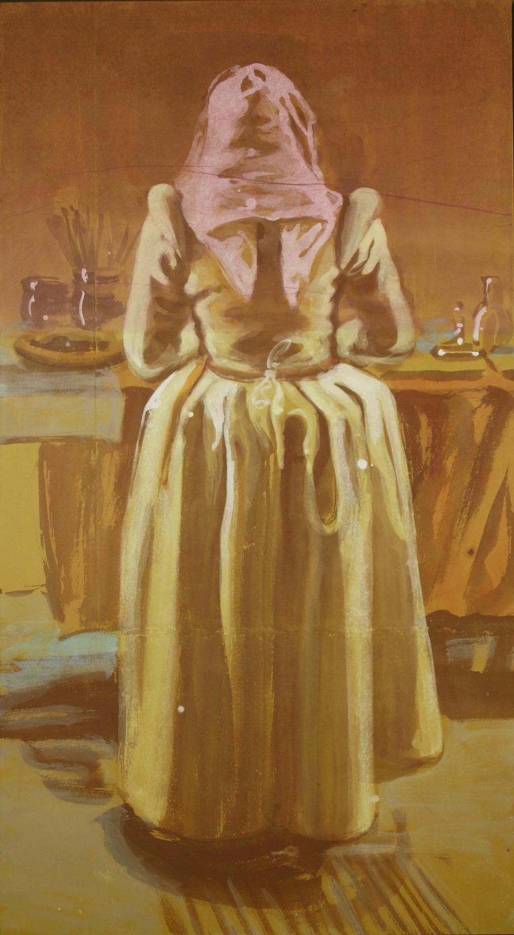 Painting Figure, 2010