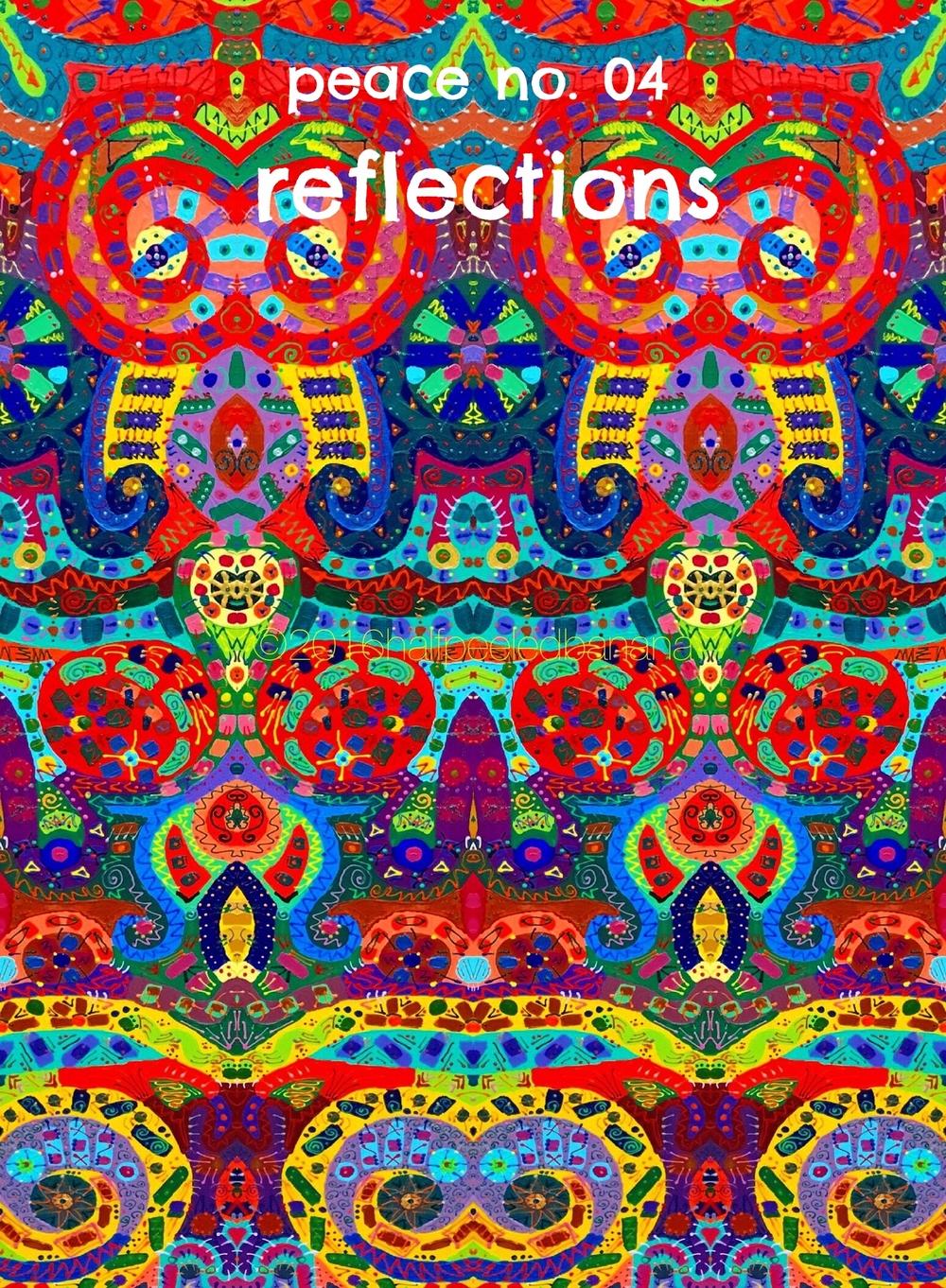 reflections -  peace print no. 04