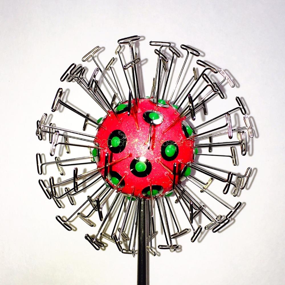 like it bright? dandelion inspired art flower by ann vanatta gutierrez