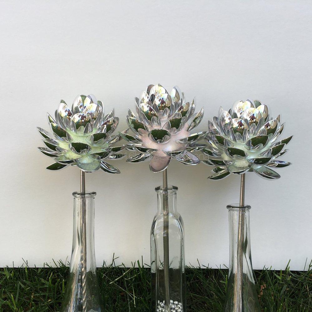 serenity in the garden - spoon flowers by ann vanatta gutierrez