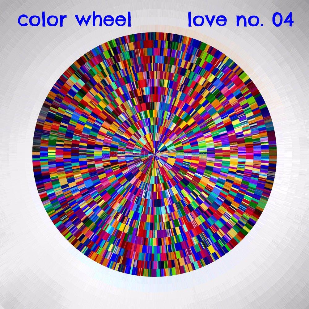 color wheel - love print no.04