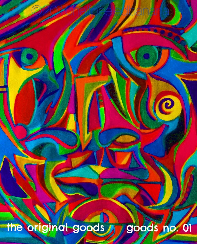 the original goods - goods no. 01 - art print - halfpeeledbanana.com
