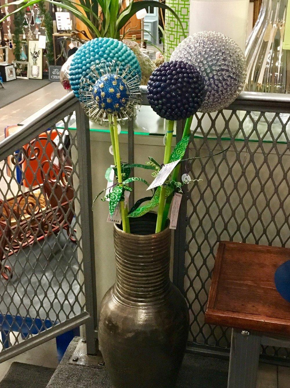 modern indoor/outdoor garden flowers