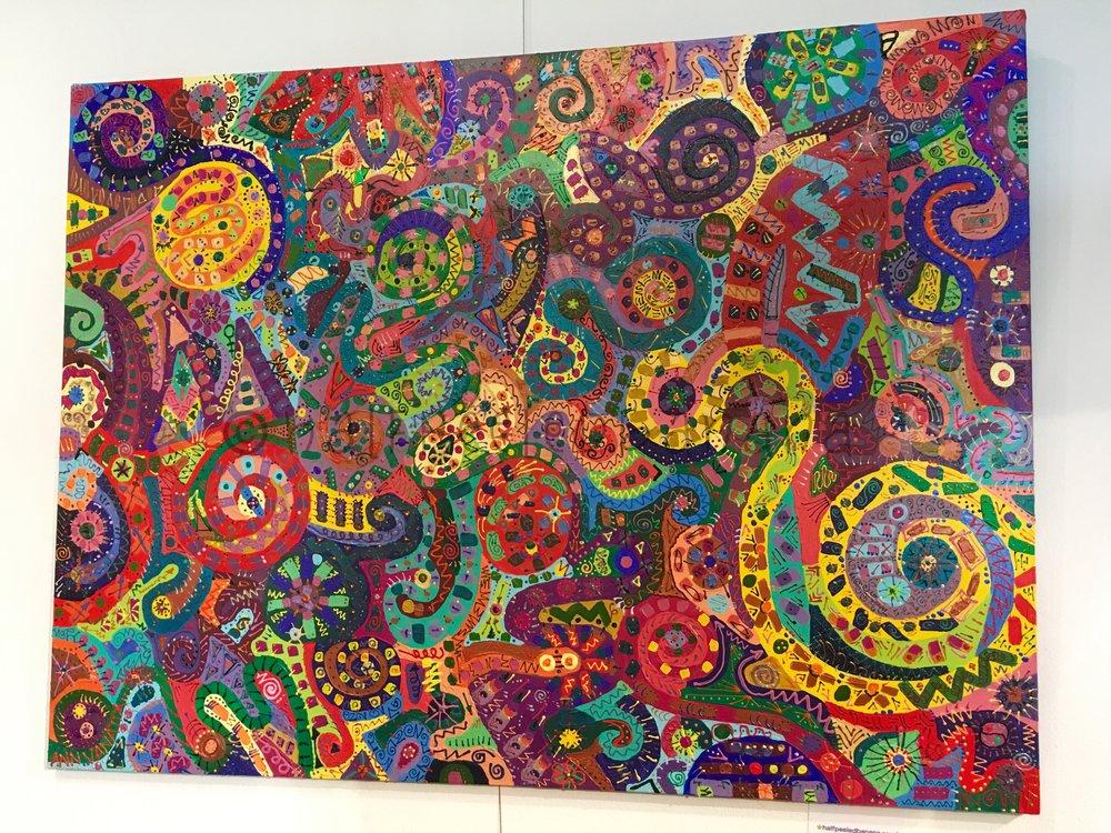 "the original ""peace"" 36x48 by ann vanatta gutierrez"
