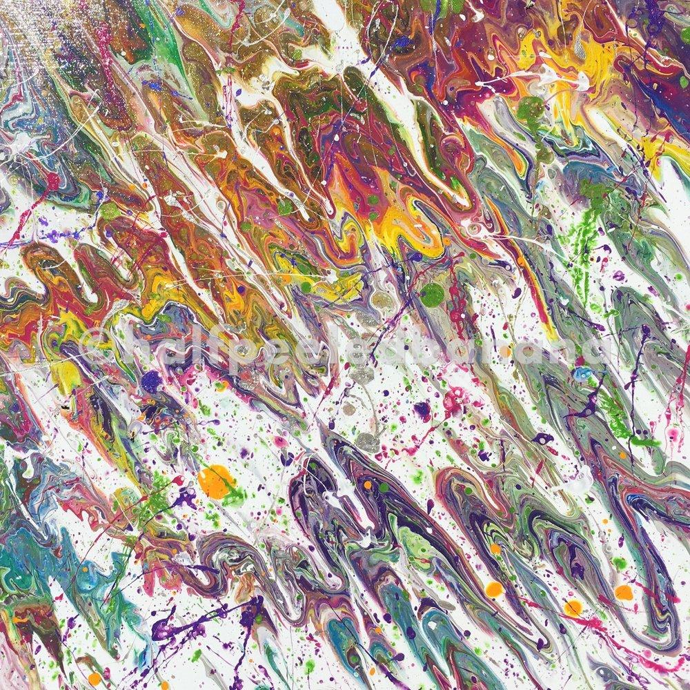 20 x 20 - acrylic on canvas
