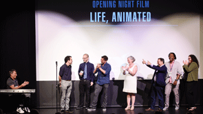 Opening Night Film: LIFE, ANIMATED with Surprise Musical Performance by Stephen Schwartz, Raúl Esparza, Owen Suskind (2016)