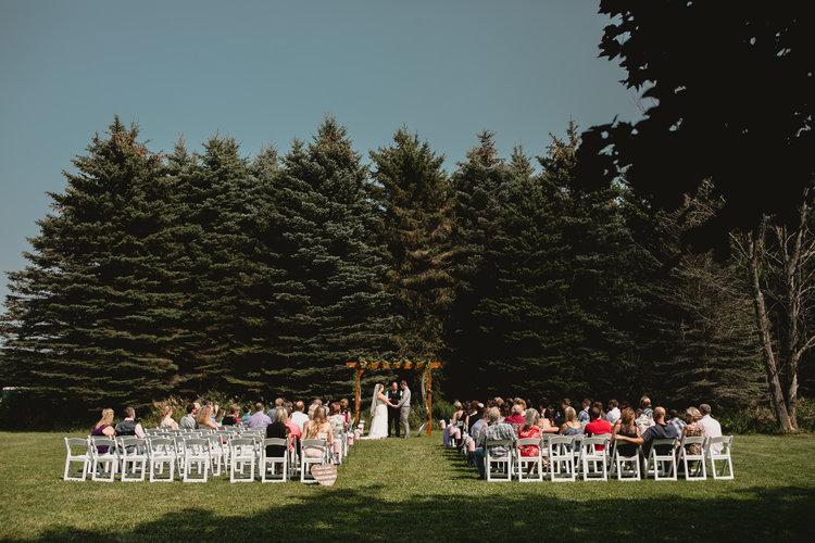 West Michigan Wedding Photographer Ludington Mi Trillium Creek