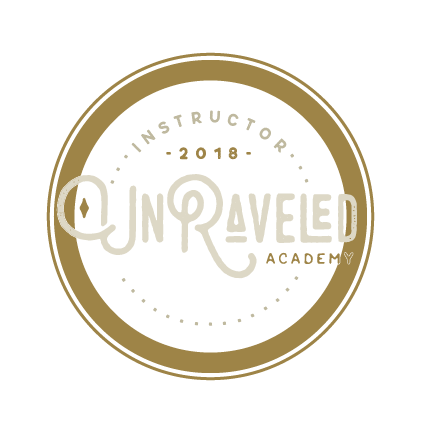 Have you checked out the Unraveled community? It's INCREDIBLE. Learn at your own pace, join an amazing community, and have access to an incredible amount of inspiring courses.