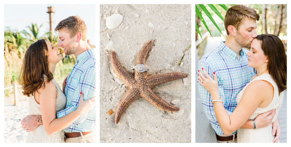 Sanibel Island Engagement Session