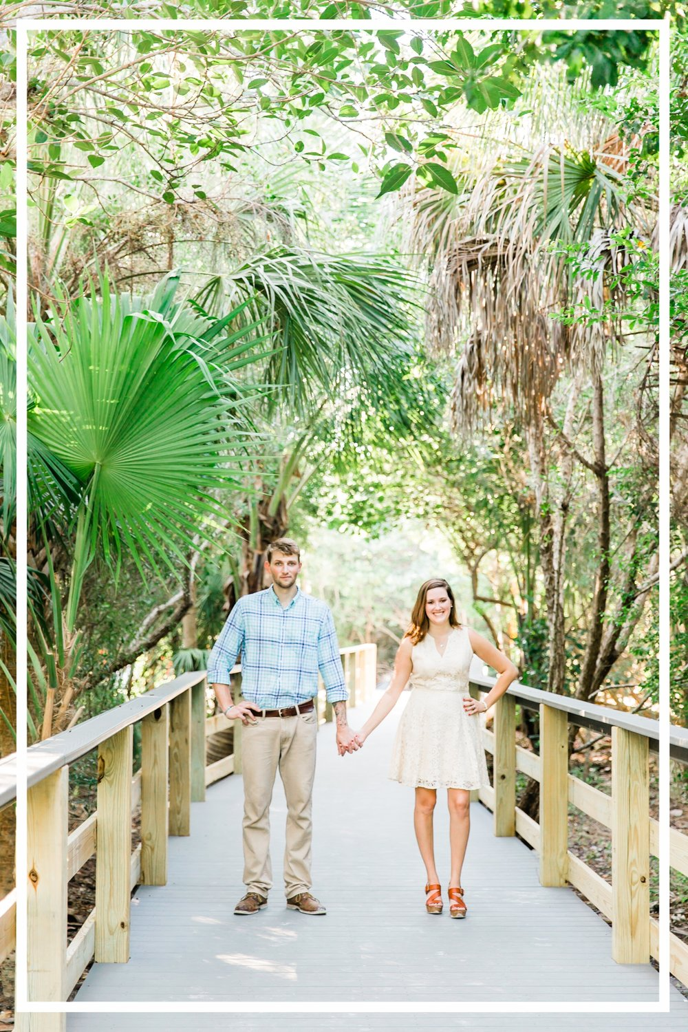 Jordan & Brendon Ft Myers Engagement Beach Session