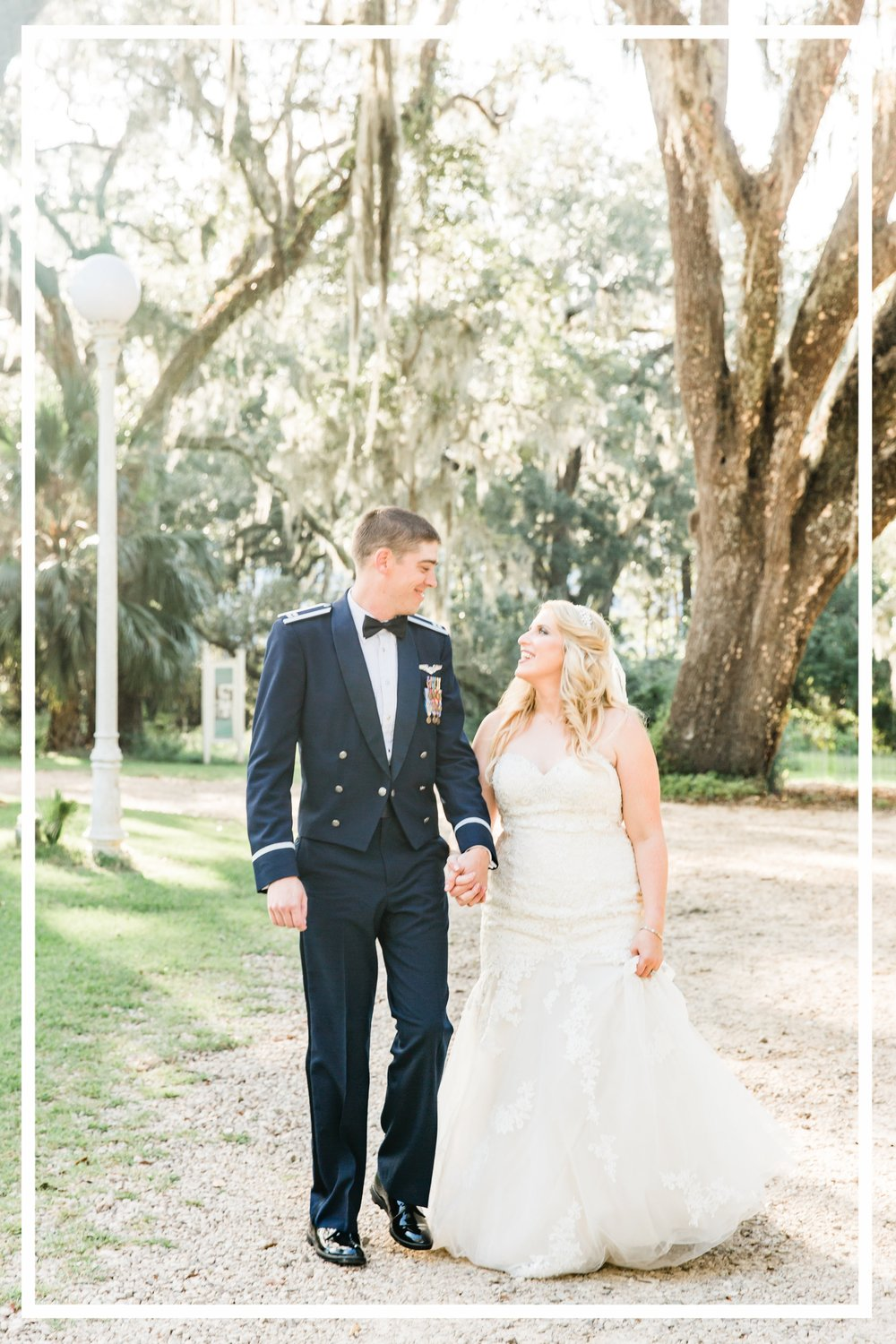Navy Burgundy Blush Military Tallahassee Florida Wedding