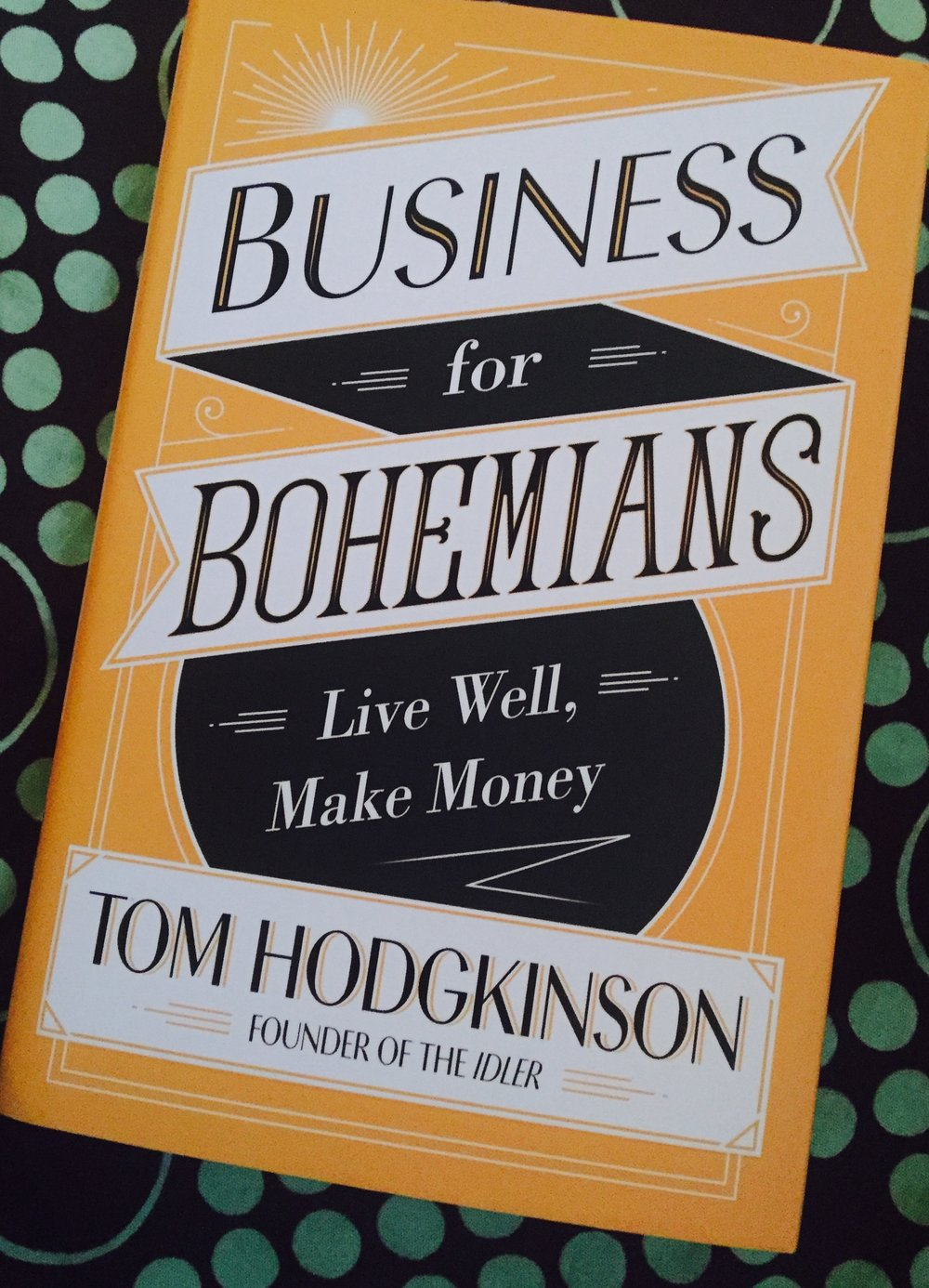 Not a boring read, thankfully!