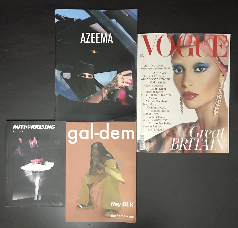 The new (Zines) versus the familiar (Vogue)