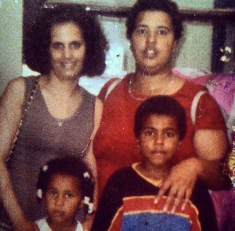 My mum and my Aunty circa 1996.