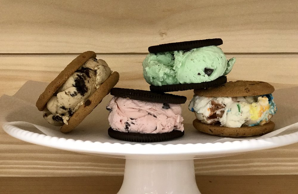 custom ice cream sandwiches -