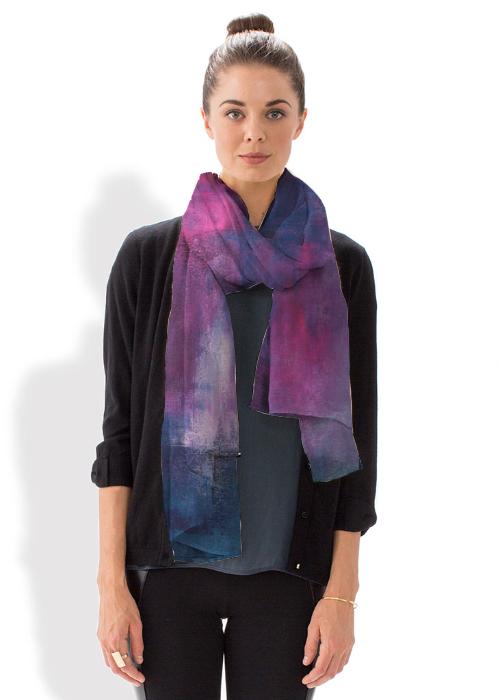 Modal Scarf - Blue Beck scarf by VIDA VIDA gVz1Nejs