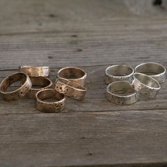 Our weathered distressed band is the perfect ring for any occasion. Rough, rugged and full character this is the one article you won't ever take off.