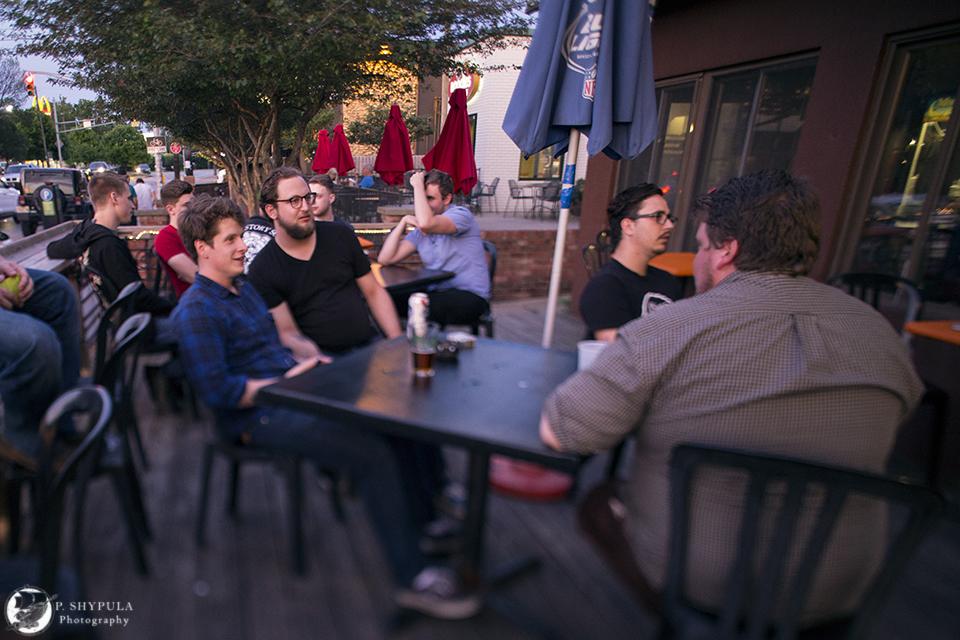 Michael Rowland, Max Fine, Jordan Dybas, Keith Ray