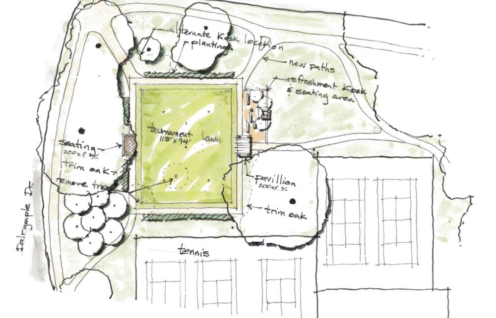 Bring A Croquet Court To City Brooks Community Park Brec Foundation