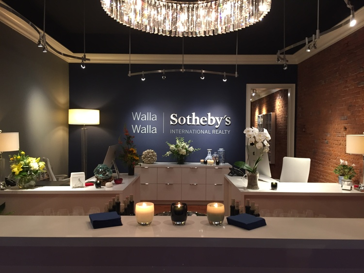 Walla Walla Sotheby's Office Design and Styling by Heidi Wells