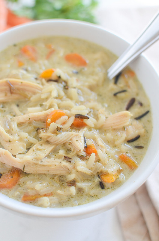 Making this today! Copycat Panera Wild Rice Soup