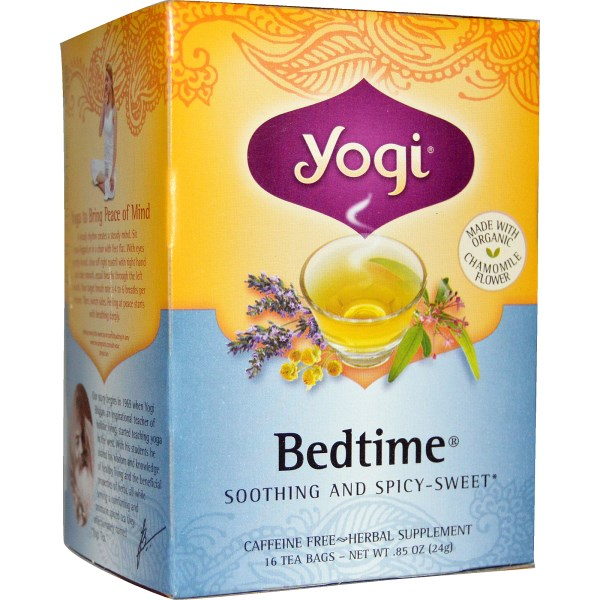 I love all of the YOGI teas but this is our family fav for night night!