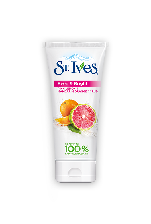 St. Ives Even & Bright.  This is one of my favorite products as I age. It helps even out my skin tone. Start with this and if you have a Clarisonic use it with this product.