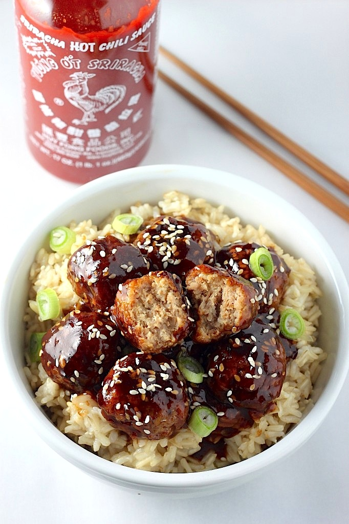 And for the love of Sriracha.... 30 Minute Sriracha Teriyaki Bowls - my son ate the entire container of these one afternoon. I did not even eat them!