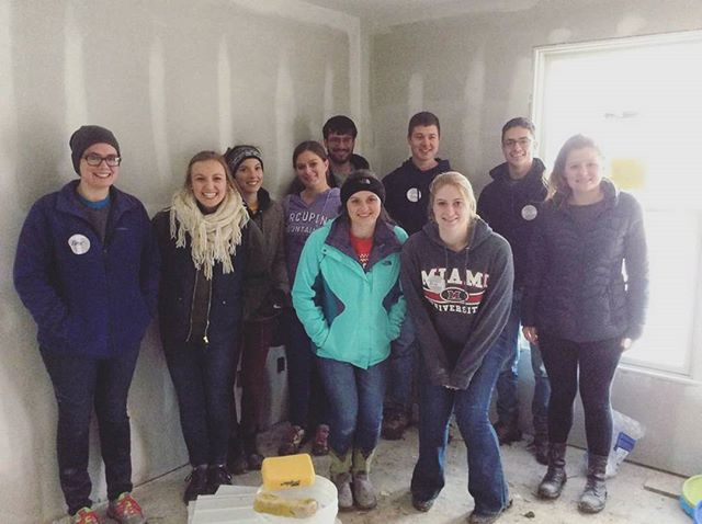 FBD ❤s Habitat for Humanity. We're so happy to have had the opportunity to come out and serve on this cold and blustery Saturday.