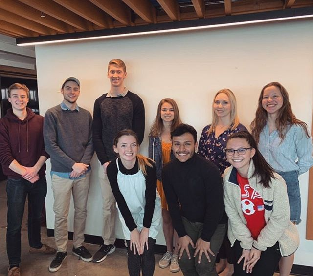 Congrats to our newly elected AIAS and Freedom by Design exec boards for 2019-20!  AIAS positions: President: Barbara Willey Vice President: Roberto Medina Treasurer: Katie Fedoronko  Secretary: Emily Hower Social Media: Andrew Jackson Professional Outreach: Collin Beresford FBD director: Alli Gerardot