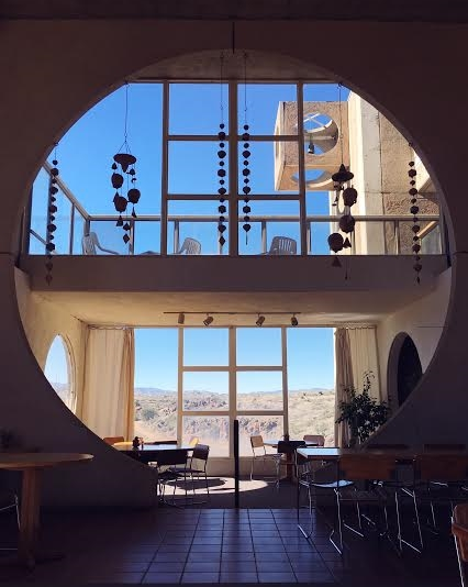 Arcosanti's cafe / photo by Maleeha Sambur