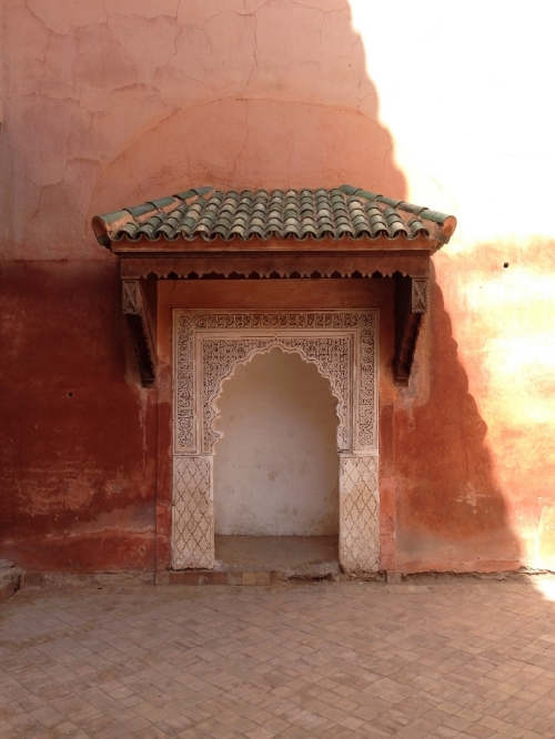 Saadian Tombs | photo by Maleeha Sambur