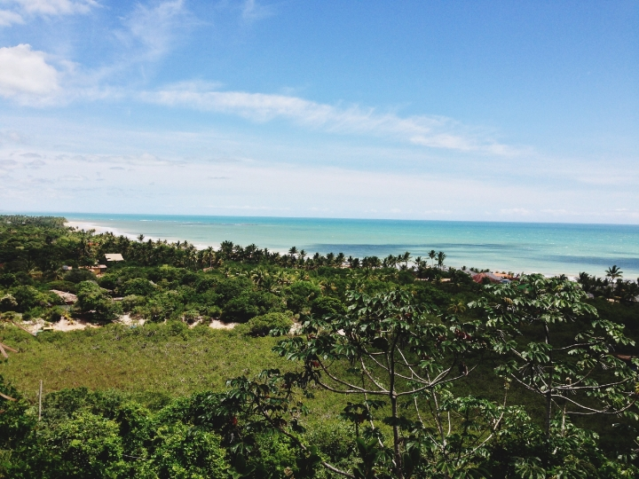 The Atlantic meets dense Brazilian jungle | photo by Maleeha Sambur