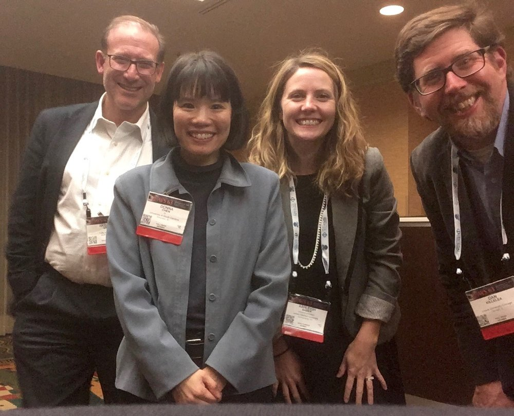 HC focus topic committee (most of them!) Art Utz, Donna Chen (Univ. South Carolina), Ashleigh Baber, and Dan