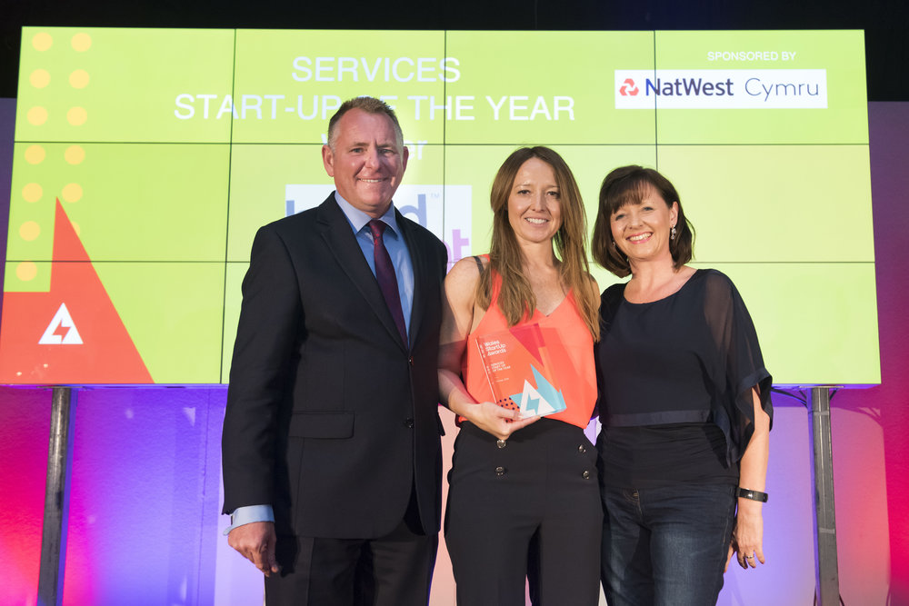 NatWest sponsor The Services Start-Up of the Year at The Wales Start-Up Awards