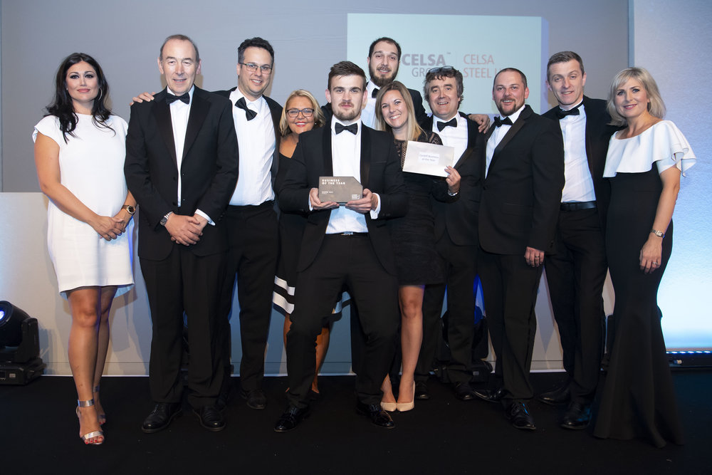 Winners of the Cardiff Business Awards 2018 - CELSA Steel UK