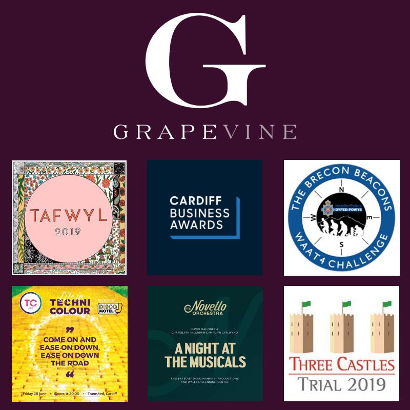 Grapevine's Pick of the Bunch - June 2019 — Grapevine Event